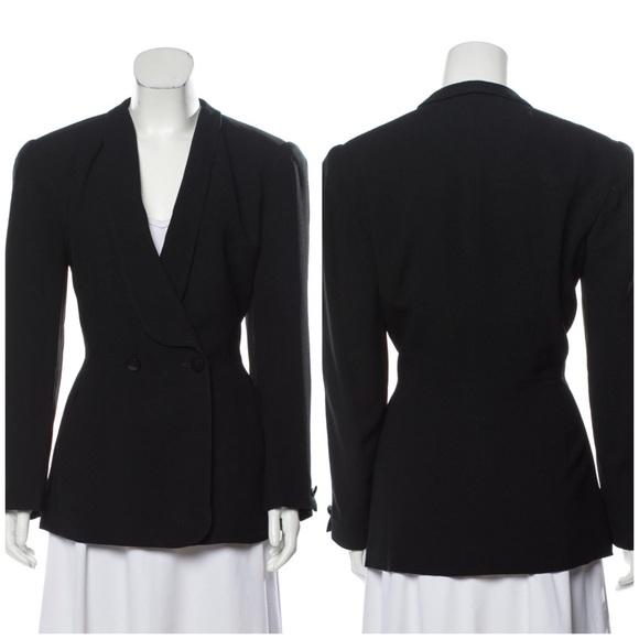 Dior Jackets & Blazers - Christian Dior Black Blazer Jacket